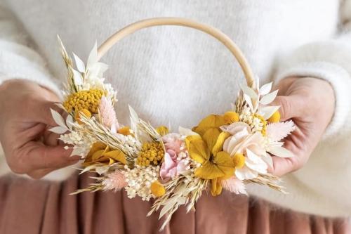 atelier couronnes de fleurs pour un evjf a paris