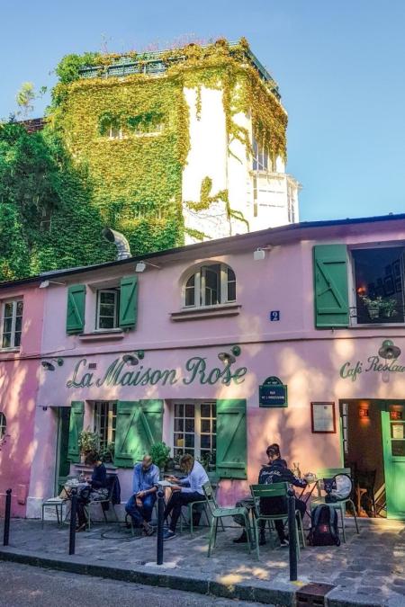 restaurant la maison rose a paris terrassse exterieure